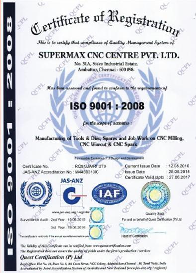 Unit 2 – Chennai CNC Servotronics Pvt  Ltd